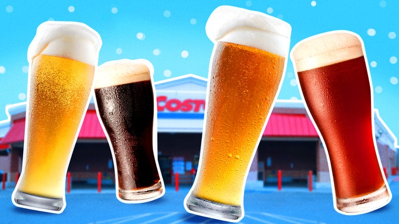 """Illustration for article titled Taste-testing Costco's $20 """"craft brewed"""" beer variety pack"""