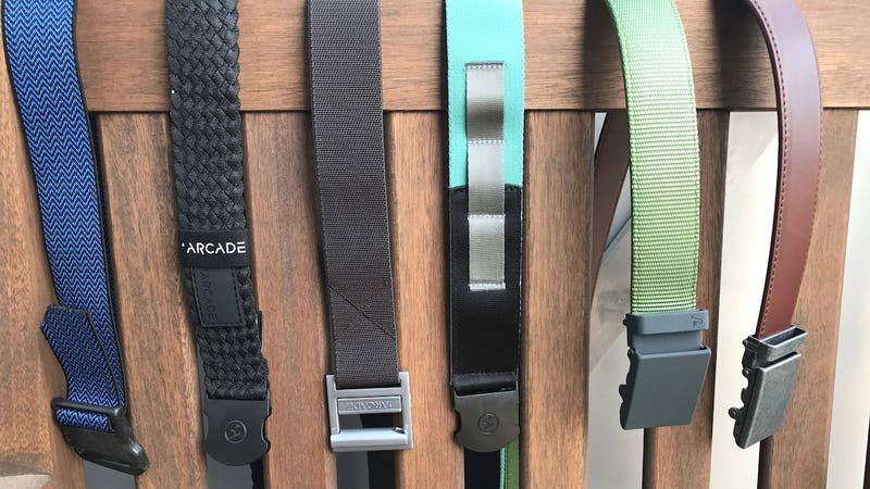 Left to right: Yaak Design, Arcade Futureweave, Arcade Guide, Arcade Nomad, Mission Nylon, Mission Leather