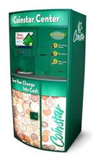 Turn coins into cash, NO FEE gift cards, or donations at Coinstar. Find a kiosk location in a grocery store near you.