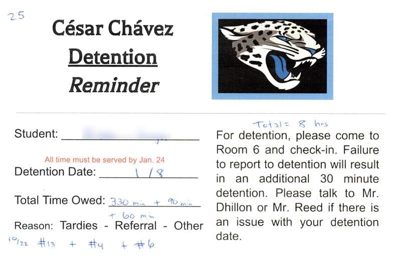 Illustration for article titled Detention