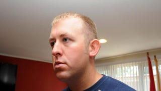 Darren Wilson is seen inan undated handout photo provided by the St. Louis County prosecutor's office.St. Louis County prosecutor's office via Getty Images