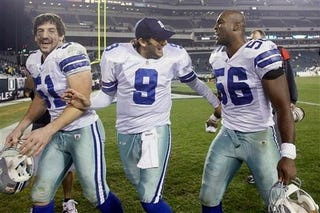 Illustration for article titled Tony Romo Wins The Weekend