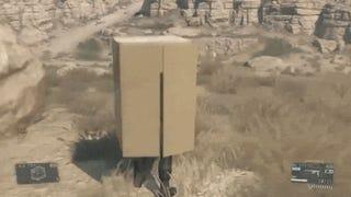 <i>Metal Gear Solid V</i> Has Cardboard Box Sledding