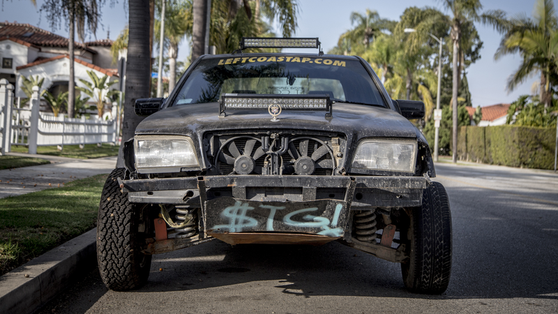 Illustration for article titled Here's The Batshit Baja Mercedes I Found Parked On The Streets Of LA