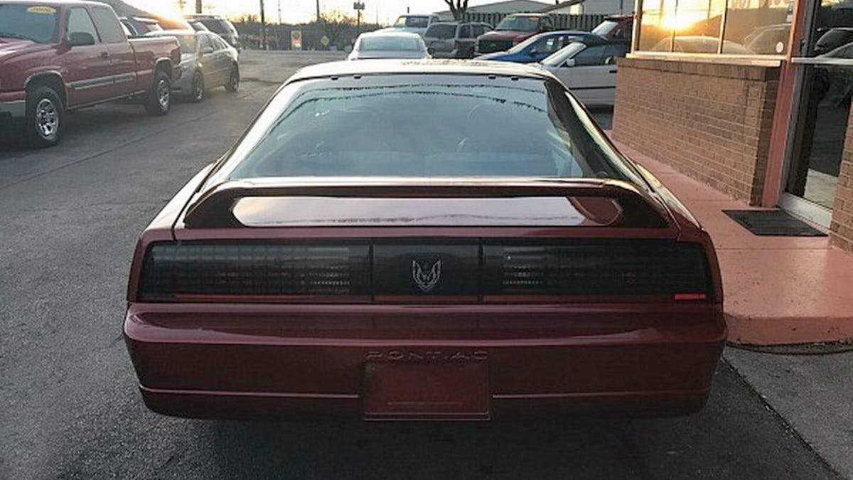 At 4950 Does This 1987 Pontiac Firebird Trans Am Gta Mean The 1988 Bird Is Word