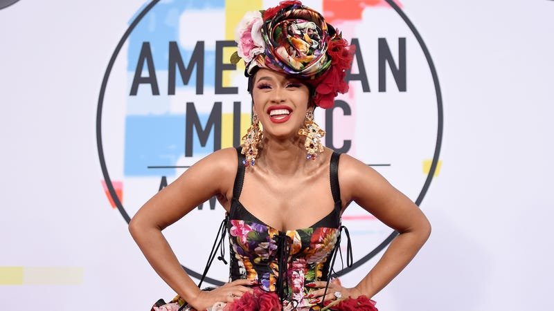 Cardi B attends the 2018 American Music Awards at Microsoft Theater on October 9, 2018 in Los Angeles, California.