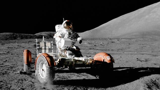Here s How Far The Apollo 17 Astronauts Drove On The Moon