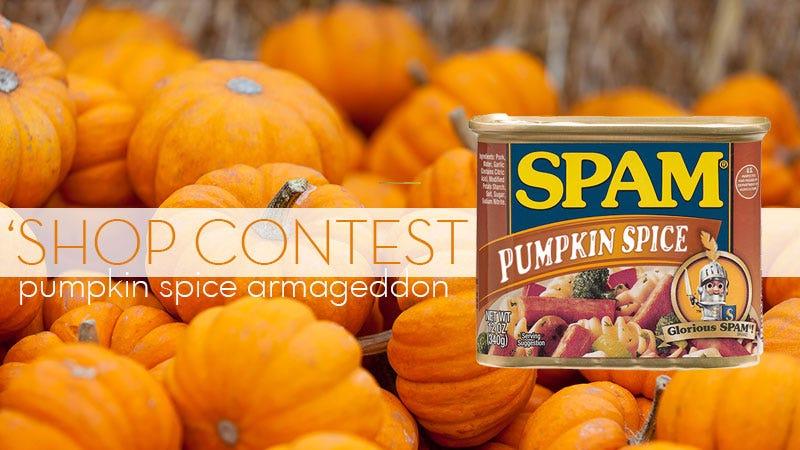 Illustration for article titled Kotaku' Shop Contest: Pumpkin Spice Armageddon