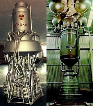 Illustration for article titled Russia Wants Nuclear-Powered Rocket to Go to Mars