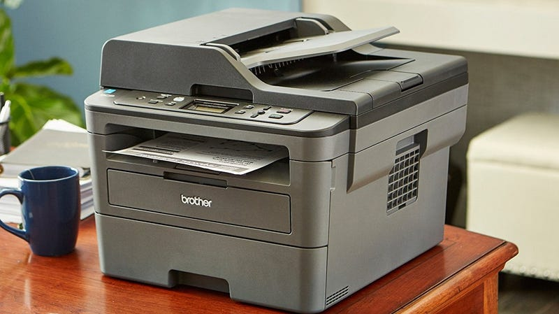 Brother DCPL2550DW Wireless Compact Laser Printer | $100 | Amazon