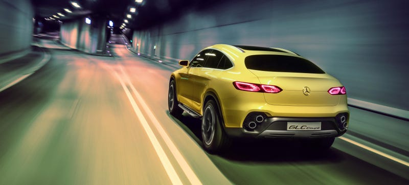 Illustration for article titled The GLC Concept Is The Future Of All Mercedes SUVs