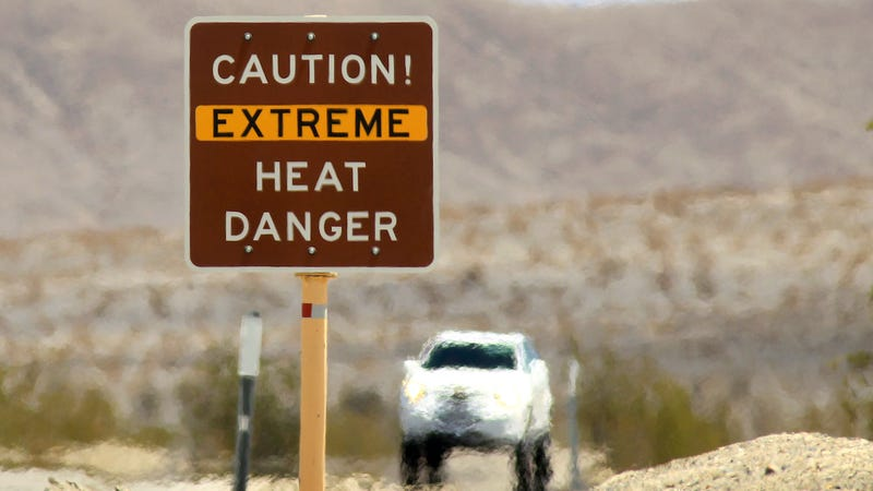 Illustration for article titled It Could Crack 120 Degrees in Death Valley as Extreme Heat Roasts Much of the U.S.