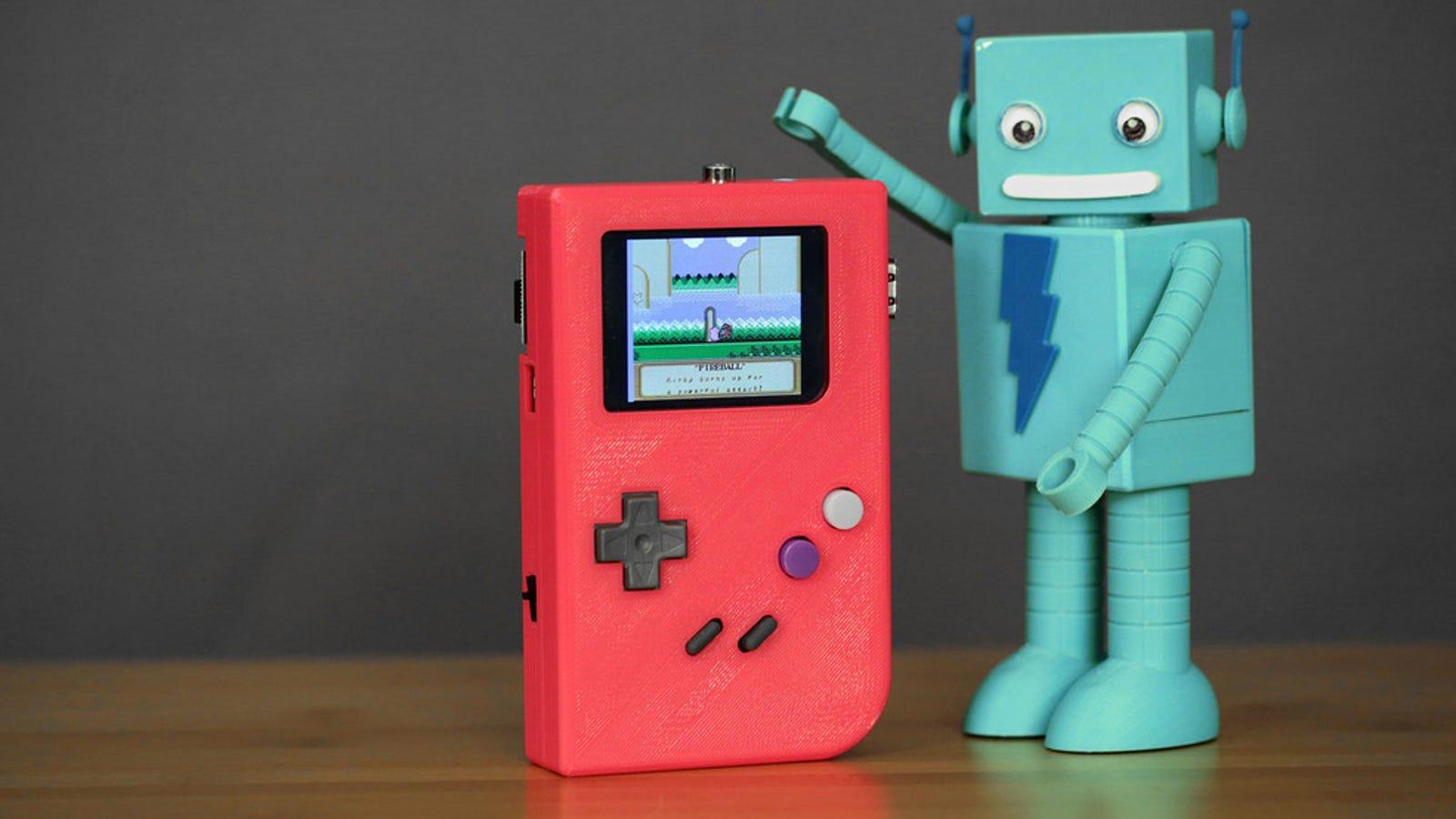 Fabrica tu propia consola Gameboy casera con una Raspberry Pi