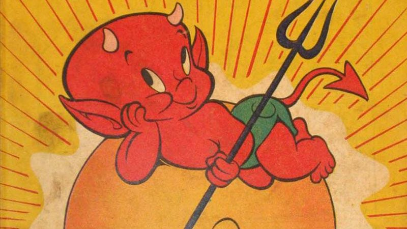 Illustration for article titled Hot Stuff The Little Devil movie to remind man that Satan is real adorable