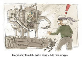 Illustration for article titled We Like Our Metal Gear Sunny Side Up, Thanks