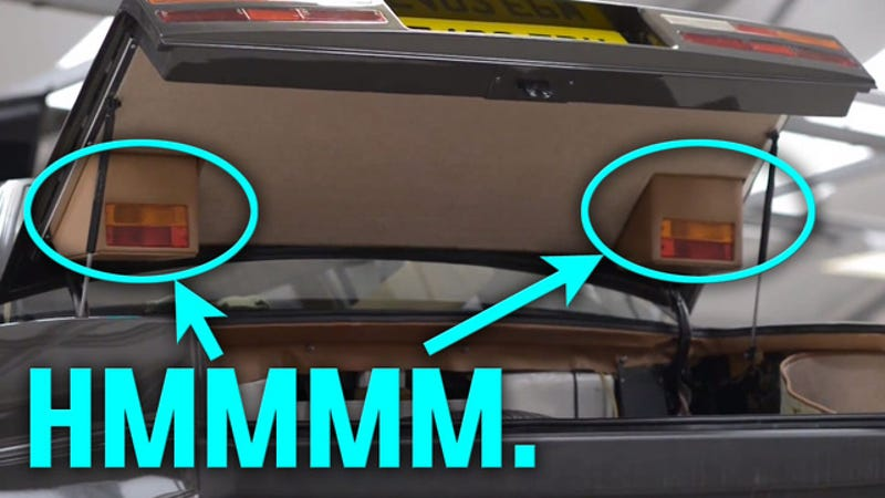 What S Going On With The Aston Martin Lagonda S Hidden Taillights