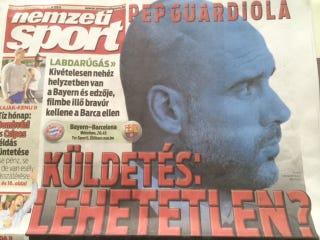 Illustration for article titled Óriási pornófilmes utalás a Nemzeti Sport címlapján (18+)