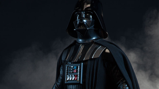 Illustration for article titled This Gorgeous Darth Vader Statue Is For Gawping At, Not Posing