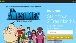 Illustration for article titled Grab 2 Free Months of Hulu Plus (Instead of the One-Week Trial)