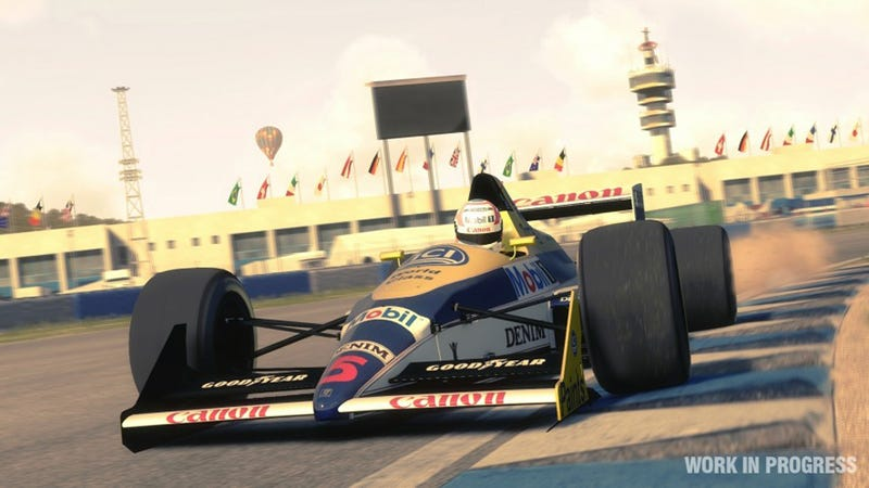 Illustration for article titled F1 2013 Gets Classic F1 Cars From The '80s And '90s
