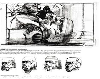 Illustration for article titled Original Trilogy concept art