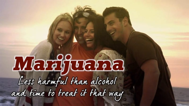 Illustration for article titled This Hilarious Pro-Marijuana Ad Will Air At NASCAR's Brickyard 400