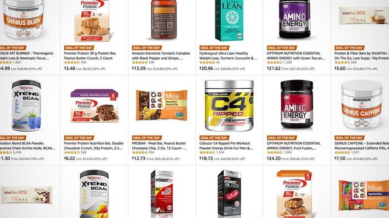 Supplement Gold Box | Amazon