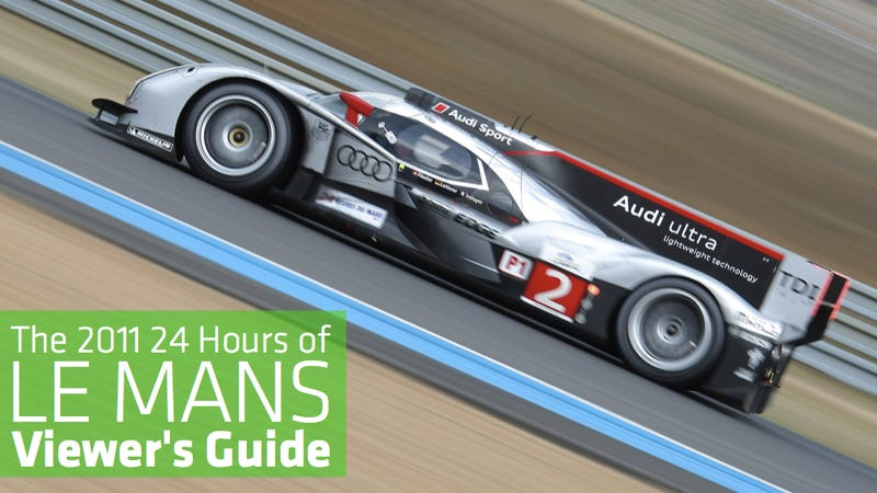Illustration for article titled The ultimate 24 Hours of Le Mans viewer's guide