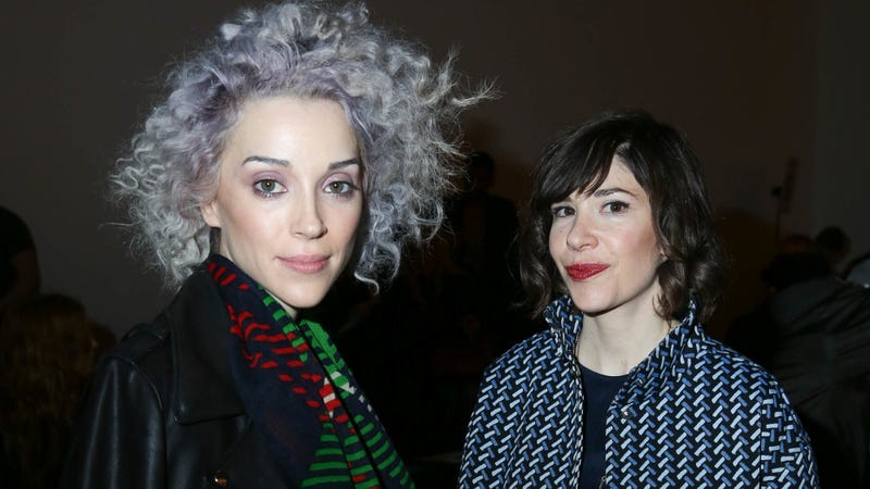 """Illustration for article titled St. Vincent and Carrie Brownstein wrote a tour comedy about """"heightened versions of themselves"""""""