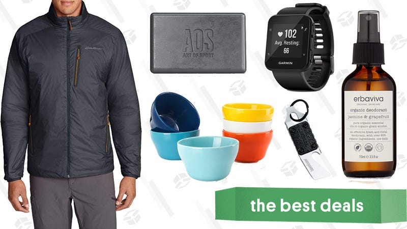 Illustration for article titled Saturday's Best Deals: Philips OneBlade, Eddie Bauer, Indie Beauty, and More