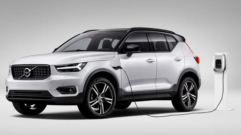 The XC40 T5 plug-in hybrid pictured.