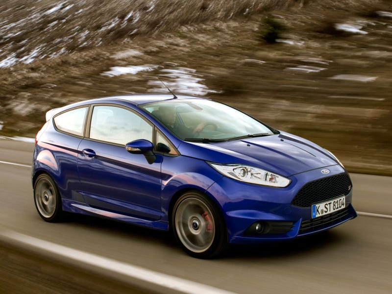 Illustration for article titled Jeremy Clarkson Reviews: 2013 Ford Fiesta ST 1.6T EcoBoost