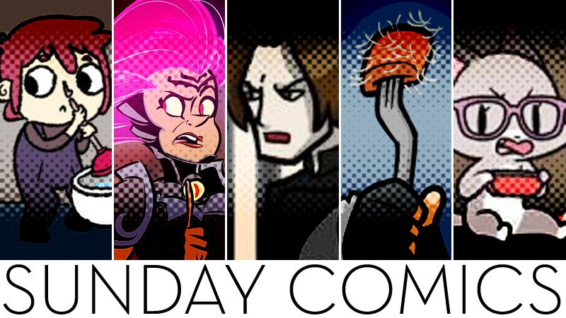 Illustration for article titled Sunday Comics: Slushie Tornado!
