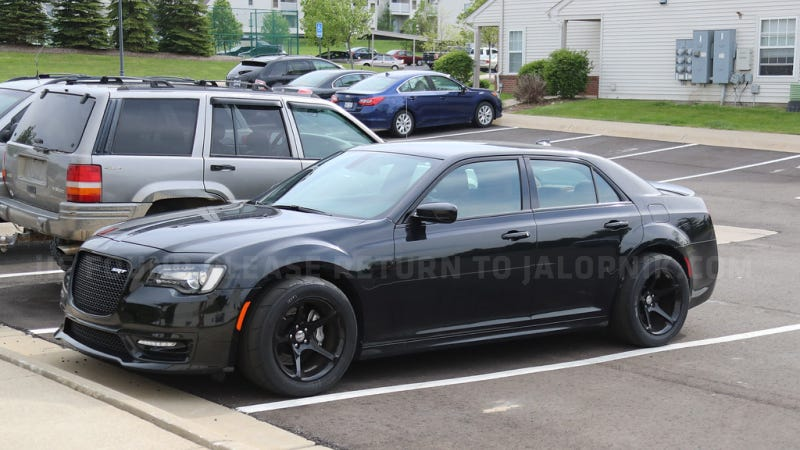 What The Hell Is This Widebody Chrysler 300 Srt With Dodge Demon Wheels