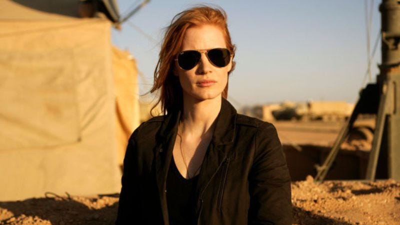 Photo: Jessica Chastain, Zero Dark Thirty