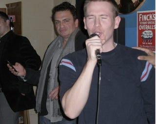 Illustration for article titled Jay Mariotti: Lurking Karaoke Superstar