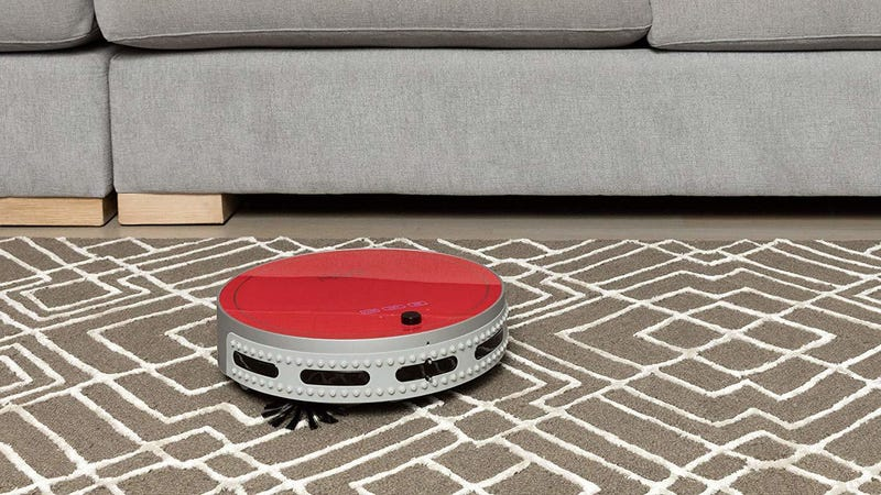bObsweep bOby Pet Robotic Vacuum (Peach or Red colors only) | $180 | Amazon