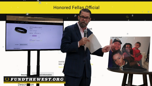 Proud Boys Founder Gavin McInnes Booted From YouTube for 'Repeat' Copyright Infringement