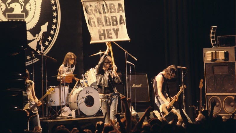 Ramones at the Atlanta Municipal Auditorium, 1978 (Photo: Tom Hill/WireImage/Getty)