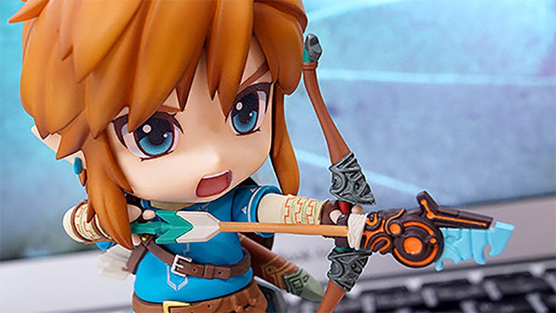 Illustration for article titled Breath Of The Wild Gets Its Own Big-Headed Link Figure