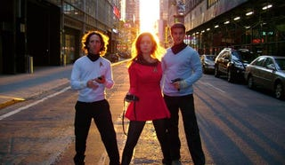 Illustration for article titled Star Trek Improv Takes It To New York City Streets