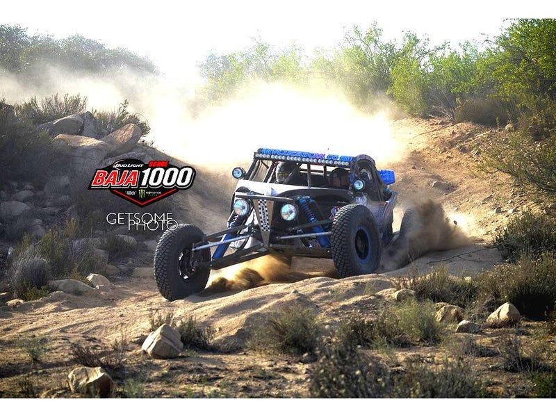 Illustration for article titled Baja 1000