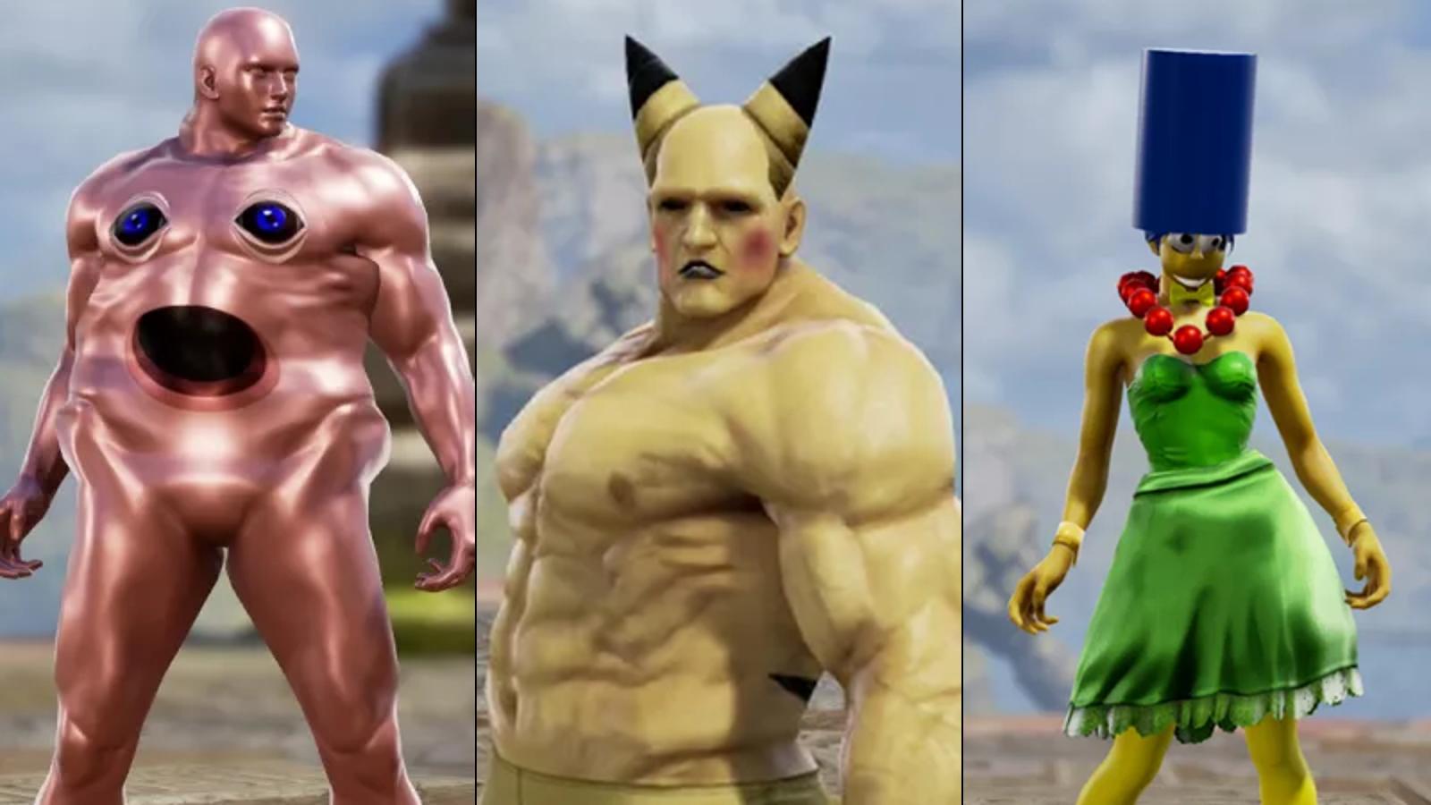 The Weirdest Soulcalibur VI Character Creations