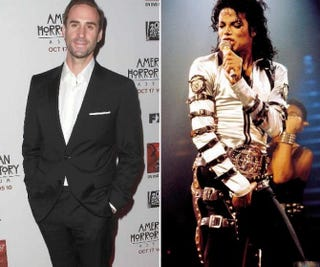 Joseph Fiennes; Michael JacksonTwitter