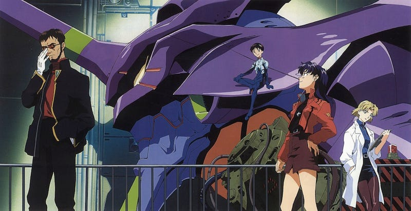 Illustration for article titled The Original Evangelion TV Series Is Finally Coming To Blu-Ray