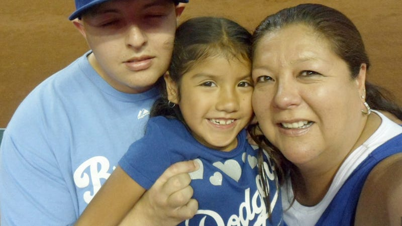 """Illustration for article titled Dodgers Fan Who Was Forced To Change Shirt: D-Backs Owner """"Is A Bully"""""""