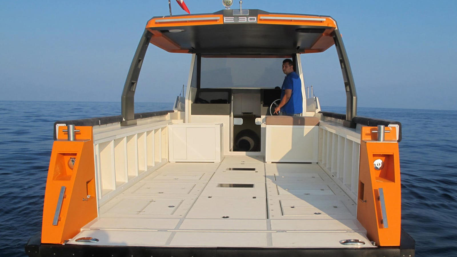 A Modular Boat You Can Reconfigure For Work or Play