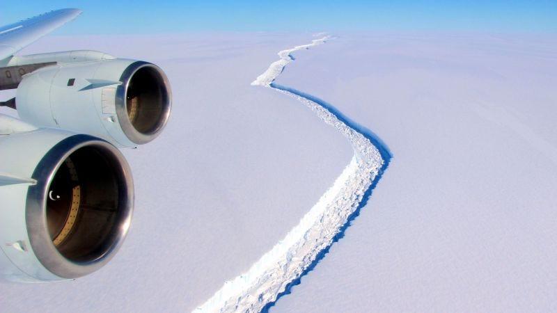 Foto: John Sonntag/IceBridge/NASA Goddard Space Flight Center