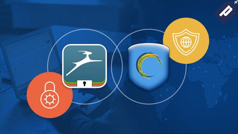 Illustration for article titled Save 60% On Dashlane's Top-Rated Password Manager + Hotspot Shield VPN