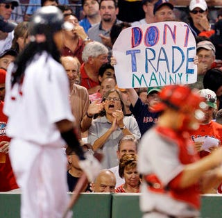 Illustration for article titled Manny Wasn't A Fan Of Red Sox Nation